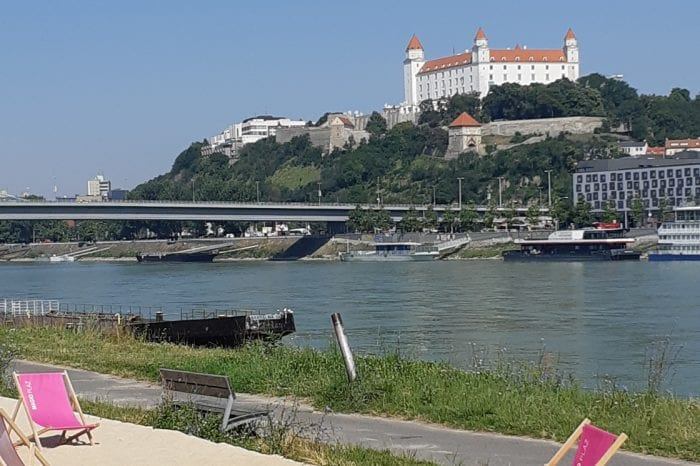 Bicycle tour along the Danube dike – Difficult one