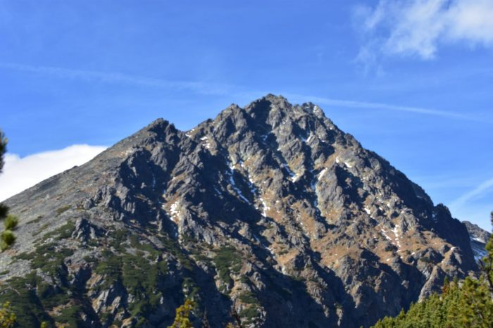 The highest peaks in High Tatras