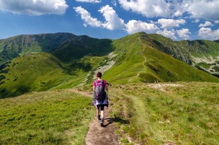 Hike to the summit Slavkovský štít