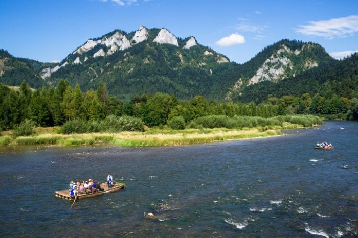 Family Holidays in Slovakia with easy rafting