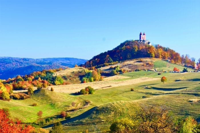 Bike tour around the historical town Banska Stiavnica