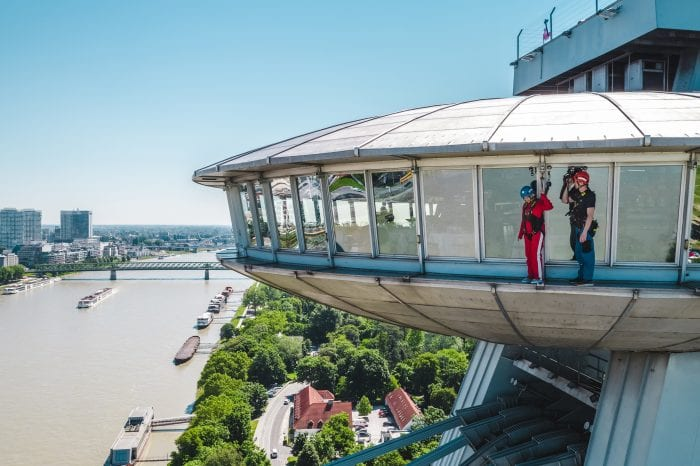 Skywalk – an unique adrenaline attraction in Bratislava