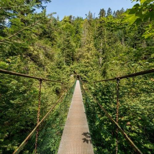 Hiking at Slovakia Paradise National Park